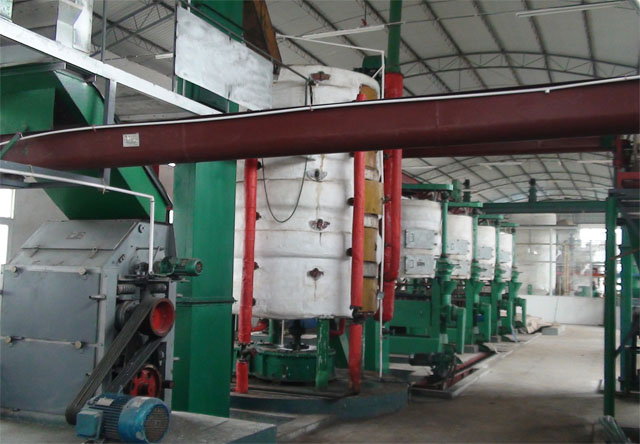 Oil press production line(Oil press machine)